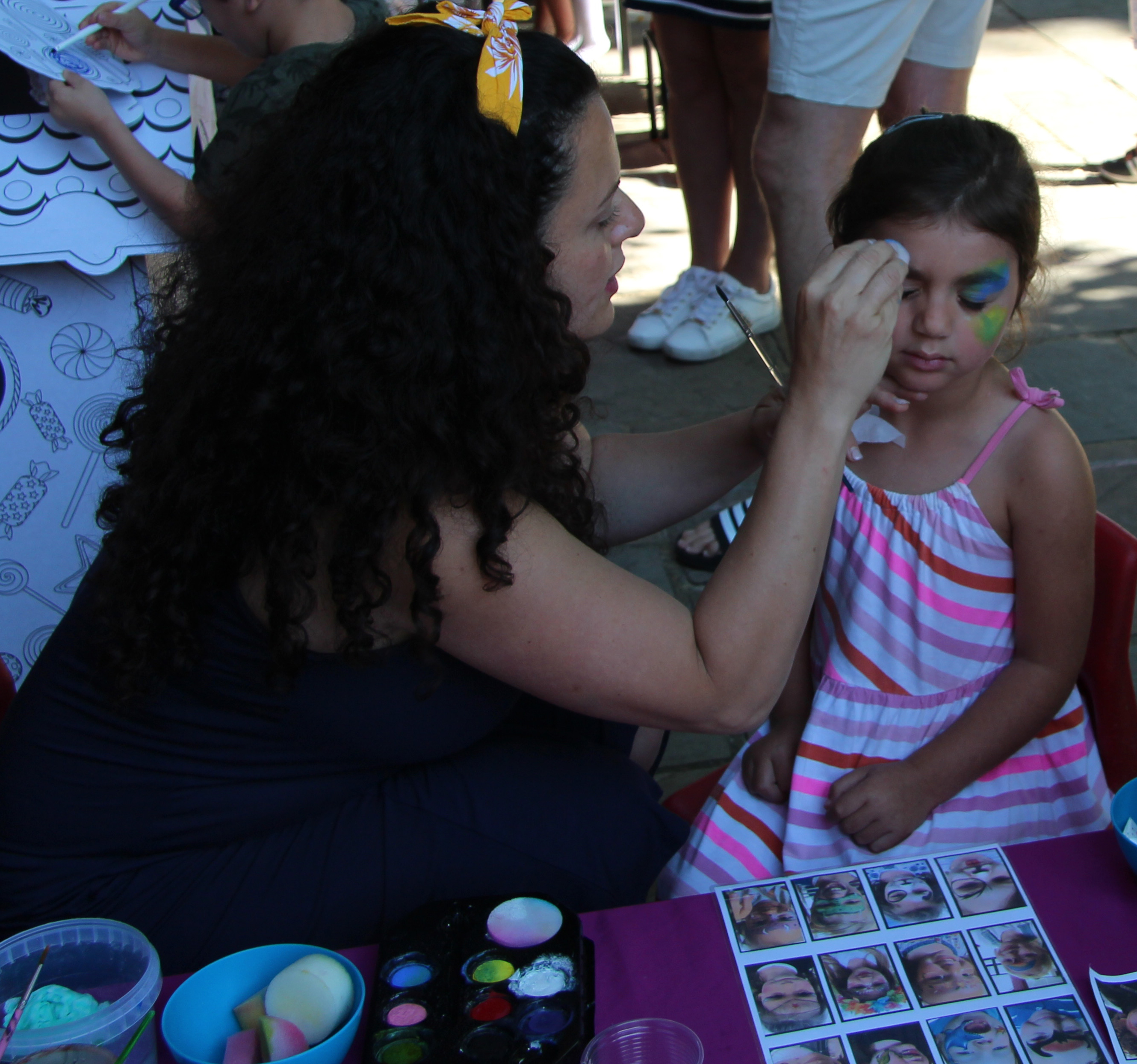 10 Yavneh Garden Party 2019 face paintin