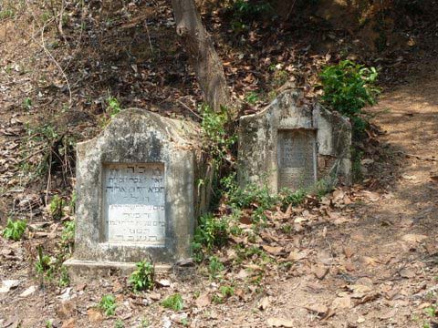neglected Jewish cemetery