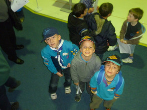 Beavers Visit the RAF Museum Hendon