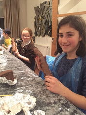 Girls @ Clay Making Event