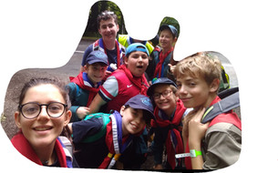 Scout hike team Tolmers