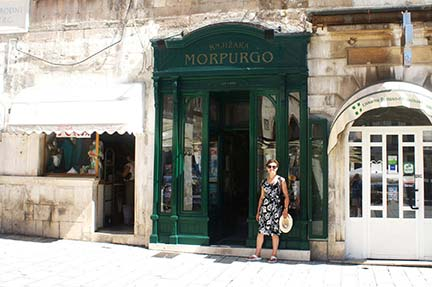 Morpurgo's Bookshop with Helen