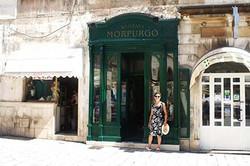 Morpurgo's Bookshop with Helen