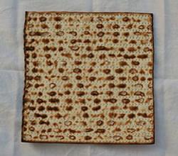 pesach sheni-Matzah