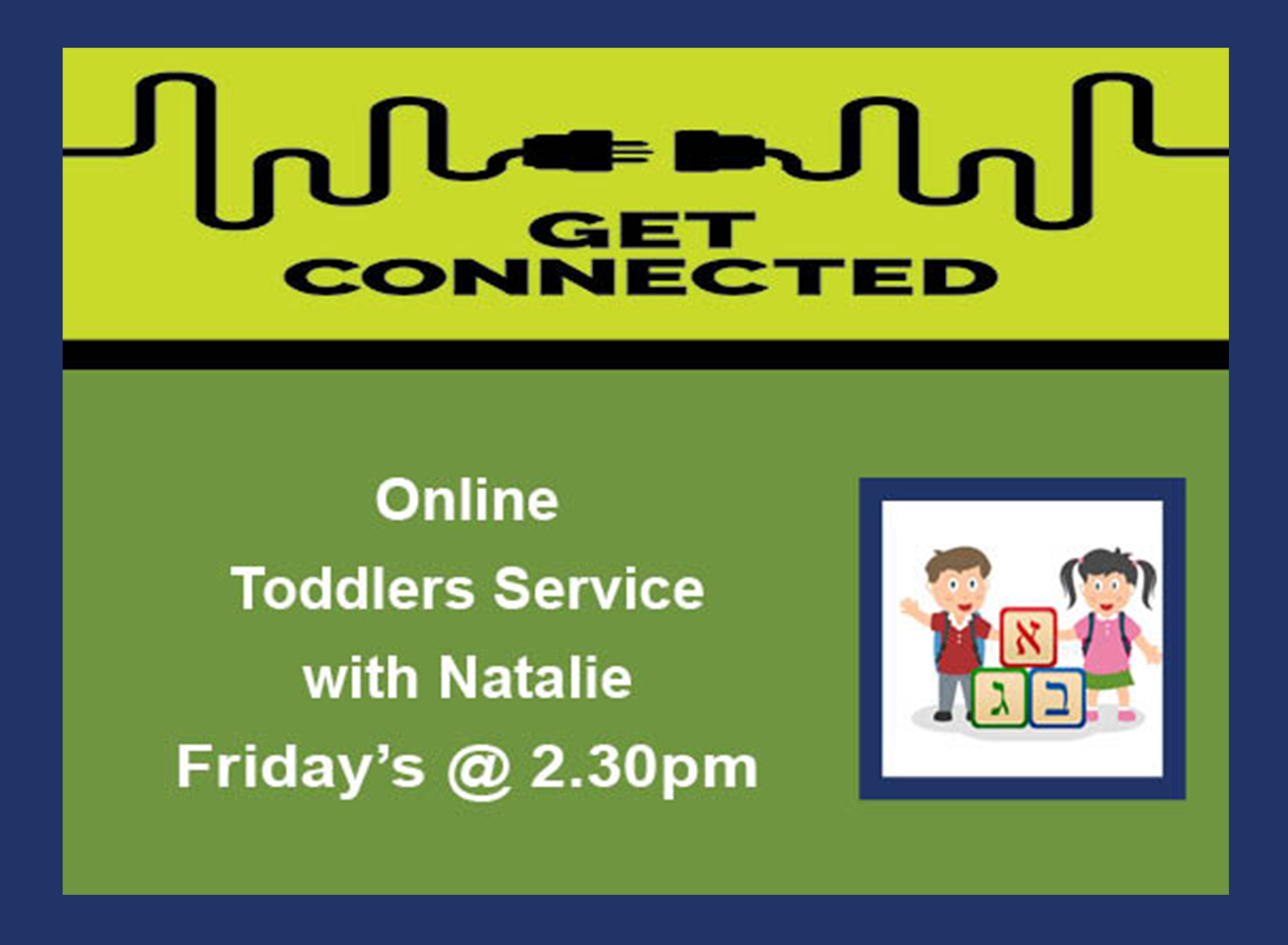 09 Toddlers Service Fridays 2.30pm