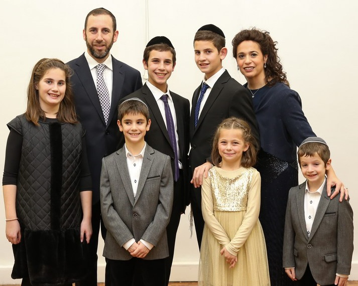 Rabbi, Gila and Family