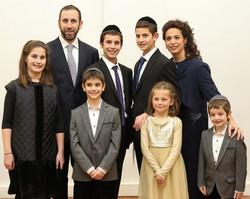 Rabbi, Gila and Family