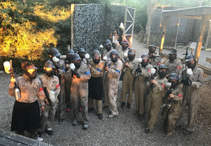 Youth Paintballing 2018