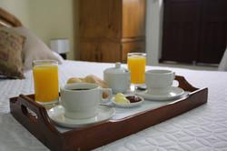 Desayuno de Cortesía