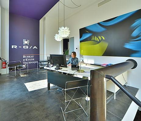 Locaux de R-G/A, bureau d'étude technique à Bourges