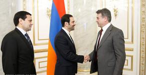 Քննարկվել են Հայաստան-Իրան-Թուրքմենստան եռակողմ համագործակցության հեռանկարները