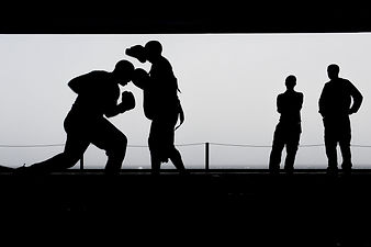 boxing-training-workout-silhouettes-3958