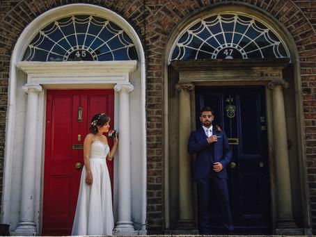 Adam & Michelle - Intimate Dublin Wedding