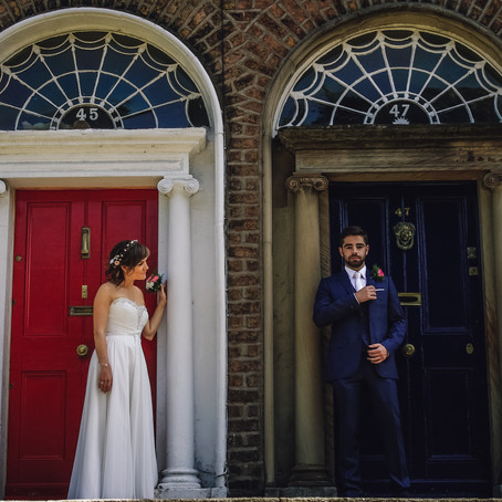 Adam & Michelle - Intimate Dublin Wedding