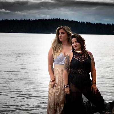 Karli & Jodie - Siren Inspired Shoot