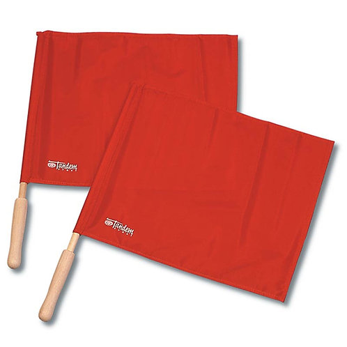 Tandem Wooden Flags (Set of 2)