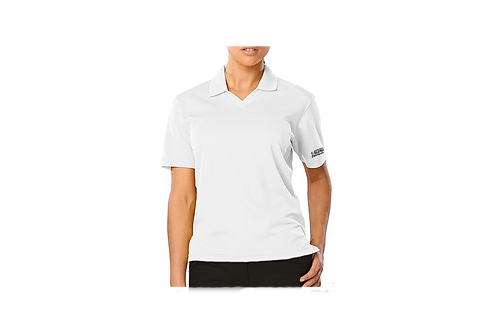 Ladie's Snag- Resistant Wicking Polo V-Neck