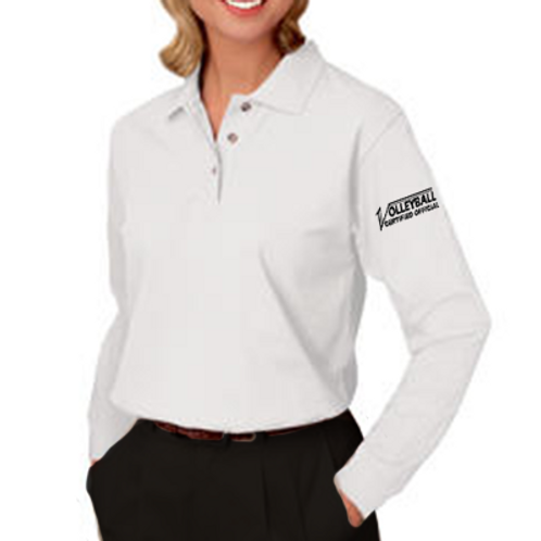 Ladies' Long Sleeve Pique Polo