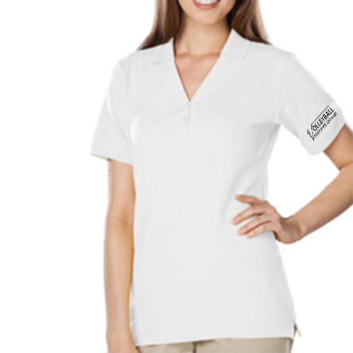 Official's Ladies Soft Touch V-Neck Polo