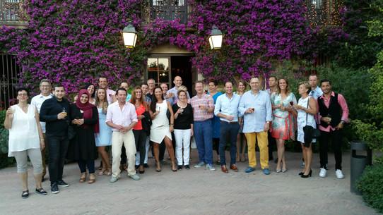 Teamreis Spanje