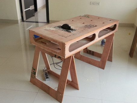 Workbench for Home Workshop
