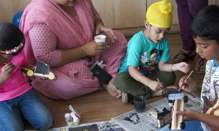 Painting - An Engrossing Activity