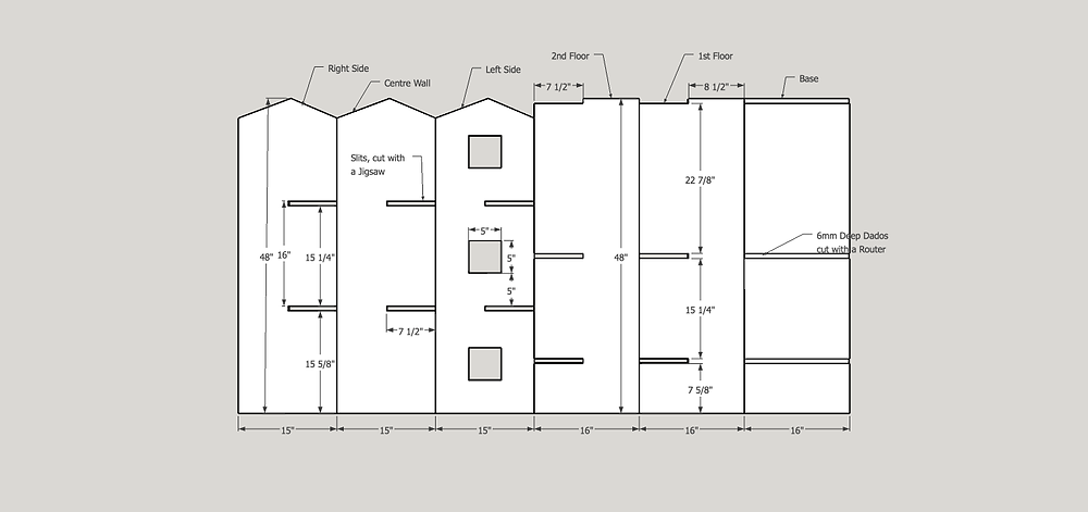 Dollhouse Plan