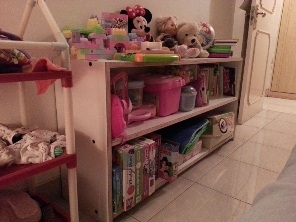Toys Shelf (Montessori Style),with pre-laminated boards