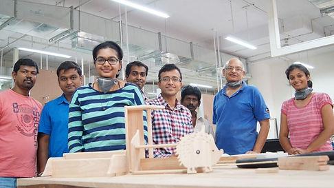 Participants of Basic Carpentry Workshop at Bangalore
