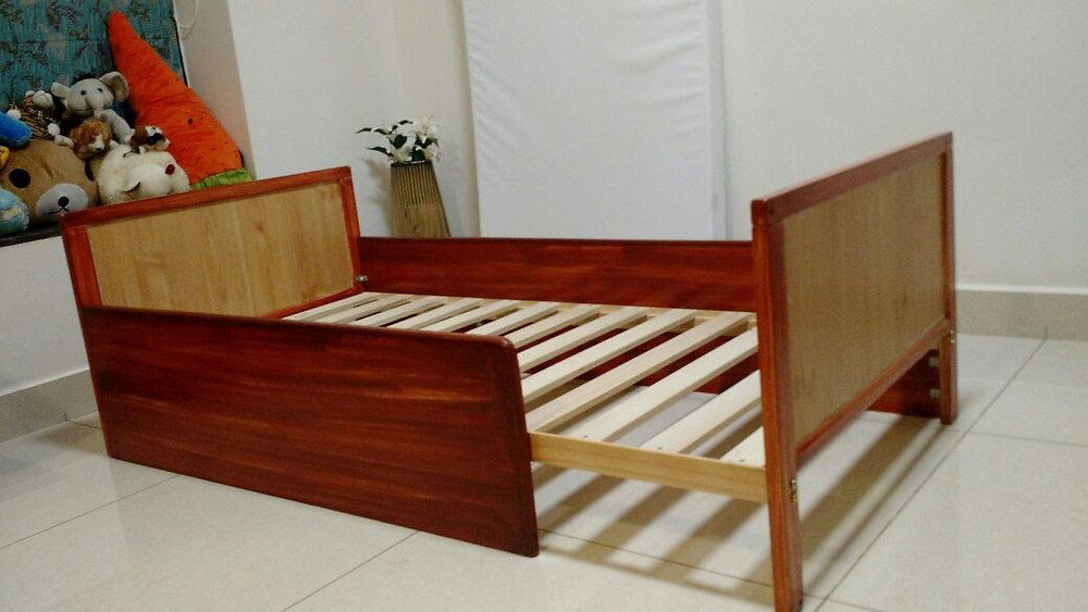 Up-cycled Mothercare Baby Cot