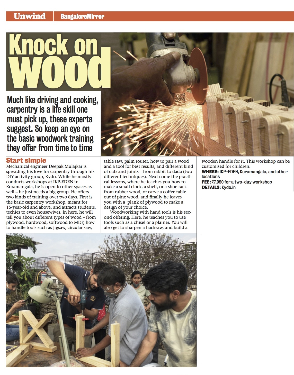kydo - learn woodworking