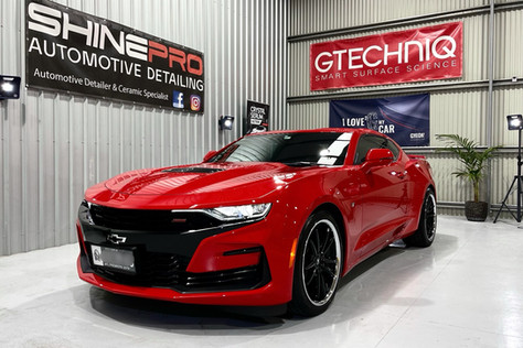 Chevrolet Camaro Gyeon FLASH ceramic coating package