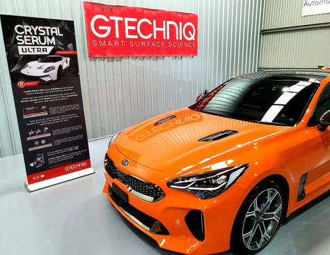Kia Stinger GT Crystal Serum Ultra ceramic coating package