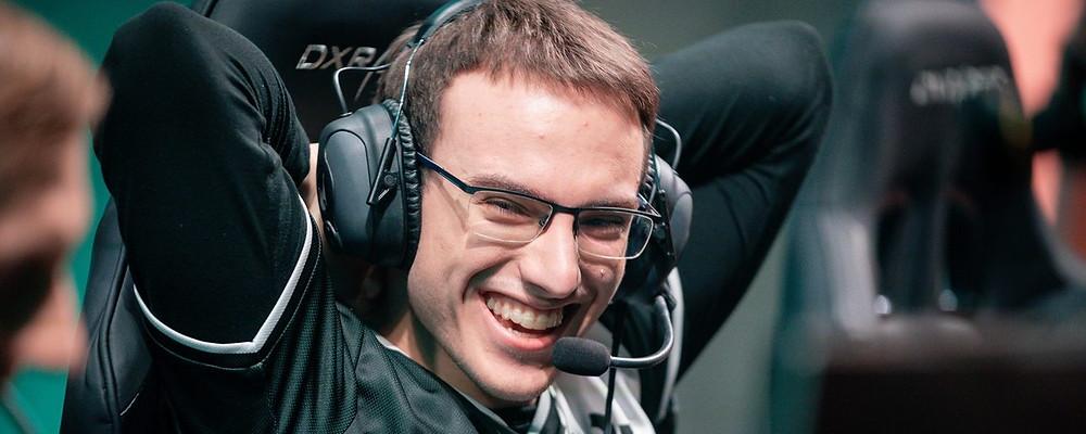 Perkz, recordman avec 6 titres d'ESL