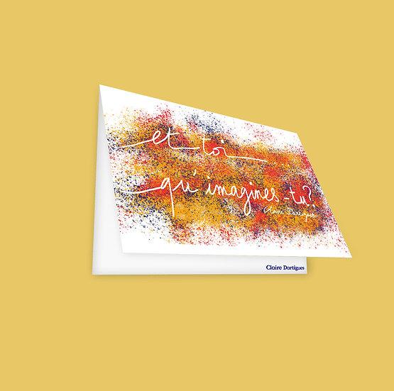 "Postcard ""Ideas"""