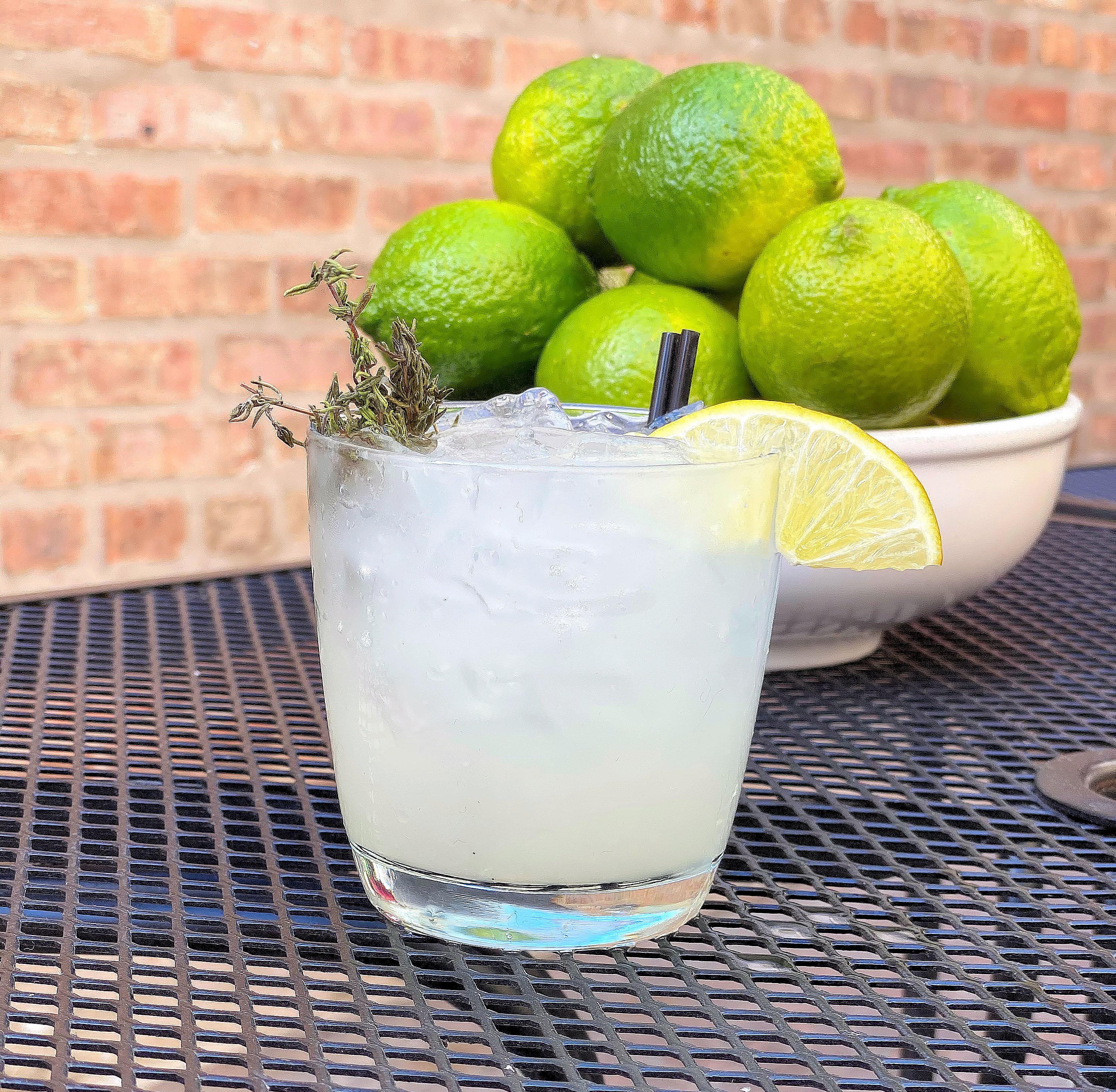 Gin & Thyme Gimlet