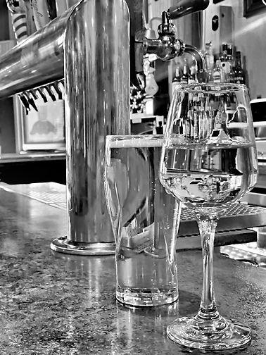 Happy Hour Black & White