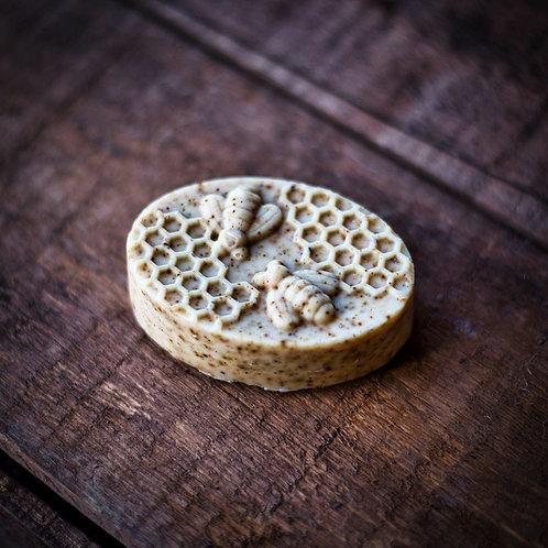 Savon Douce abeille exfoliant 80g (corps/visage)
