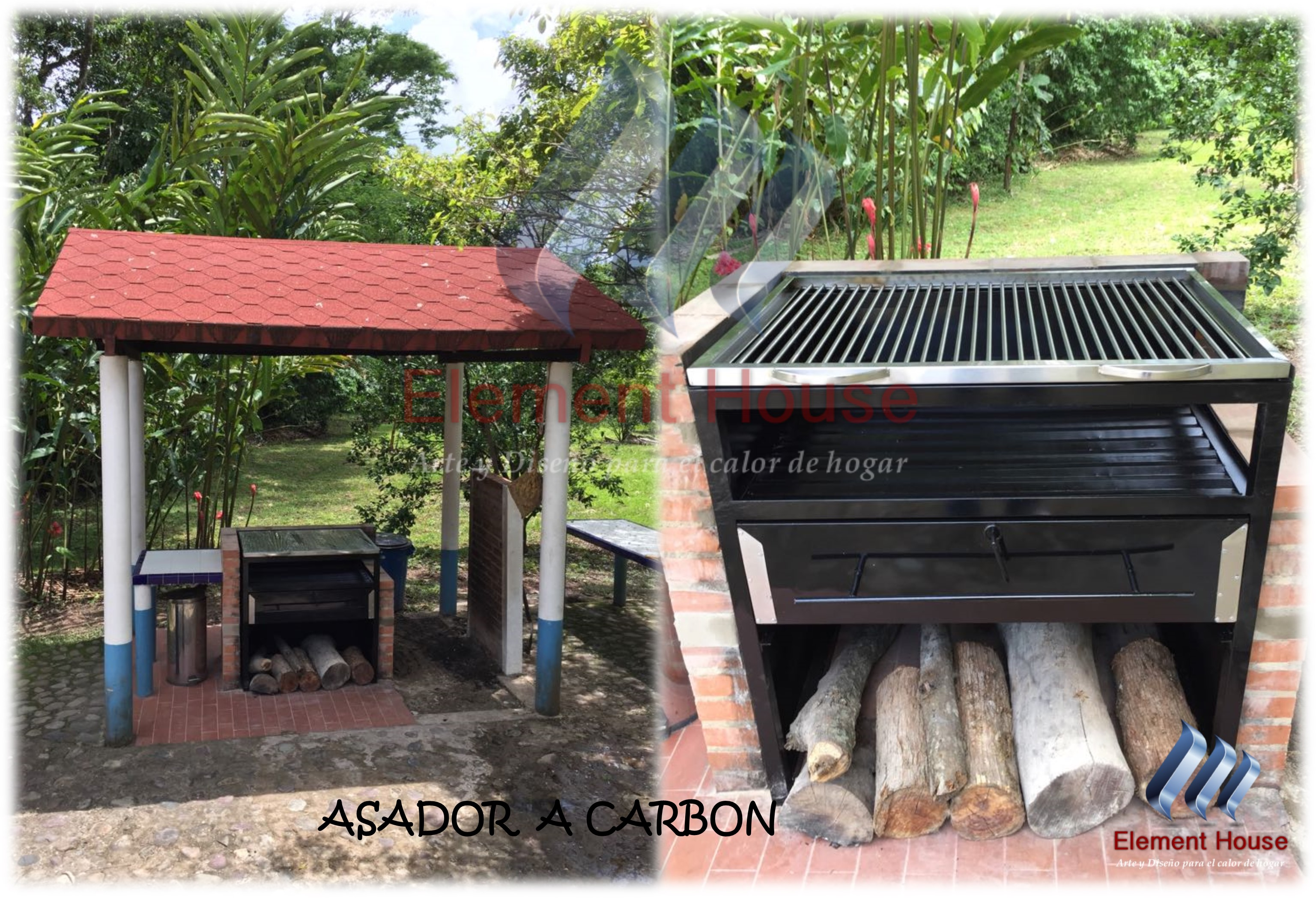 ASADOR A CARBON ELEMENT HOUSE