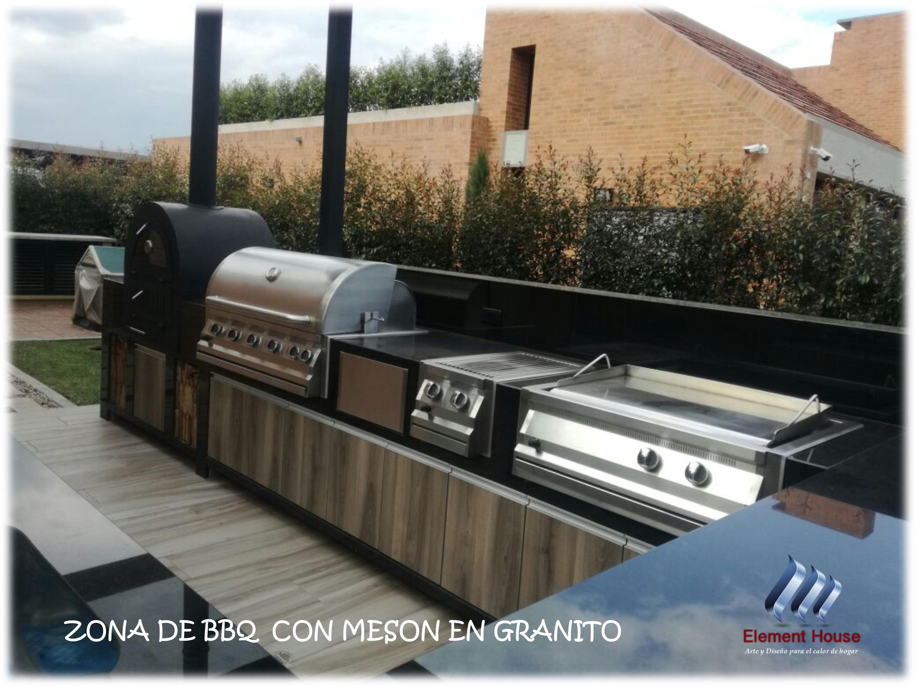 ZONA BBQ ELEMENT HOUSE