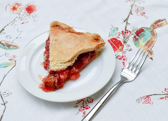 Double Crust Strawberry Rhubarb