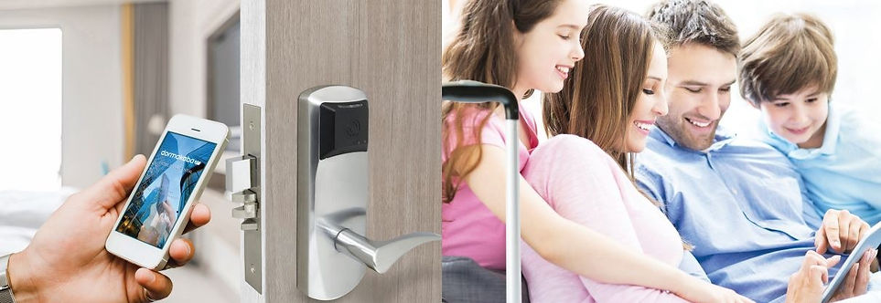 Dakota Lock & Safe Hotel Electronic Locking Systems