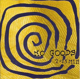 CD Cover Peter Pichler No Goods 23 Minuten