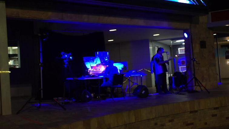 Live Vertonung von Metropolis mit Peter Pichler am Trautonium in Perth Australien
