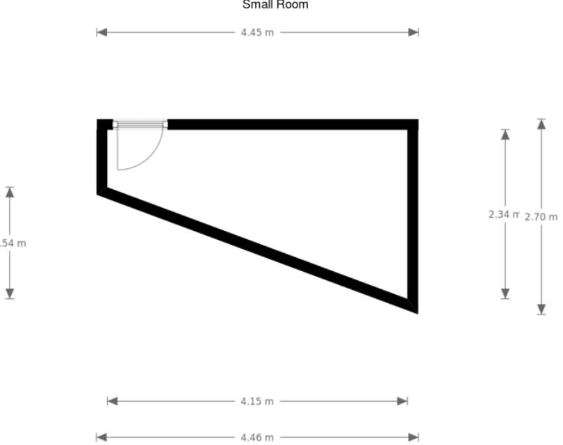 Rough Floor Plan - Smaller Room.PNG