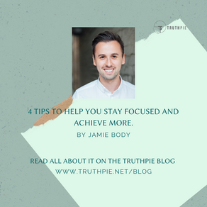 4 tips to help you stay focused and achieve more.