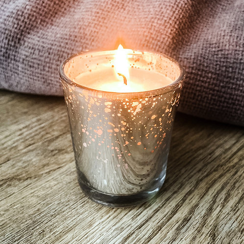 Festive Candle by Moore Massage