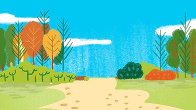 —Pngtree—summer_forest_cartoon_color
