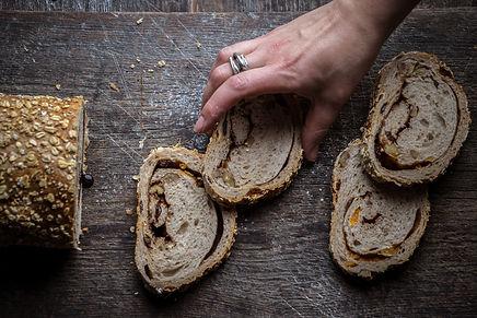 Cinnamon, Walnut and Raisin Loaf