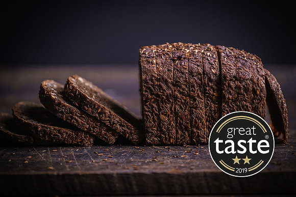 Malted Rye with Seeds & Grains